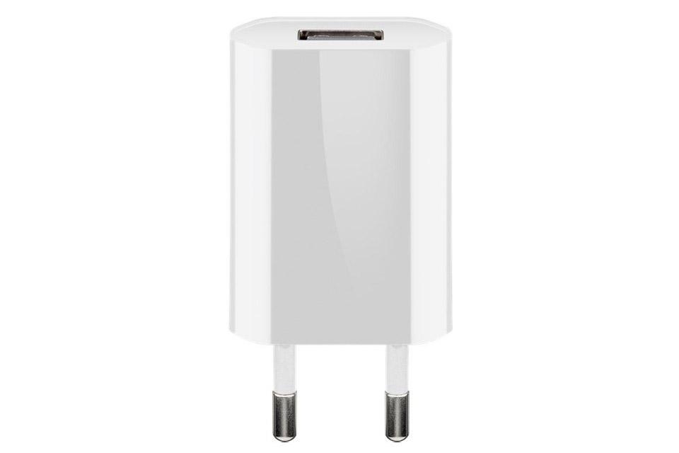 USB Oplader, hvid