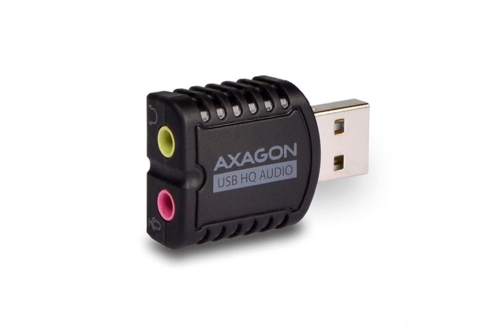 AXAGON ADA-17 USB 2.0 audio adapter for headphone/headset
