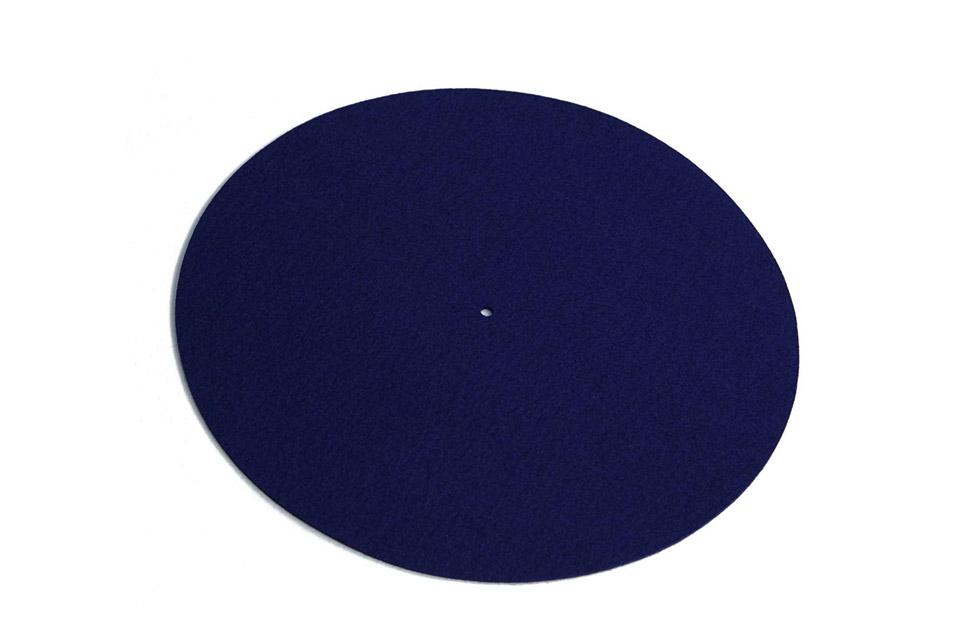 REGA Turntable wool mat - Blue