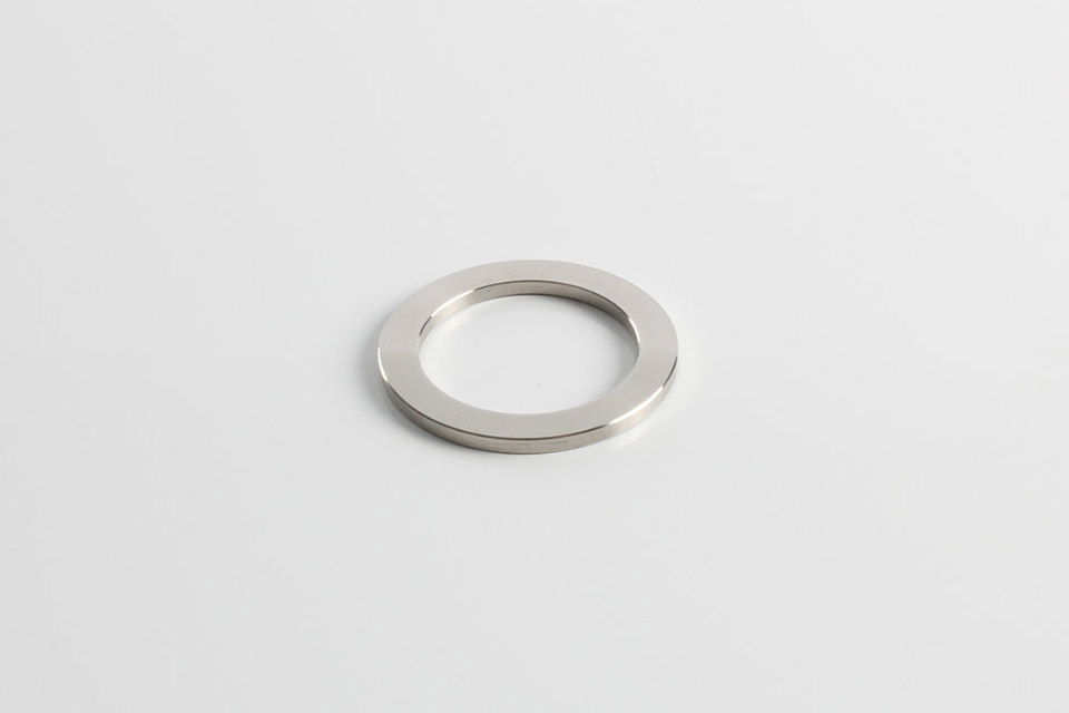 Rega round spacer in steel for Rega tonearm