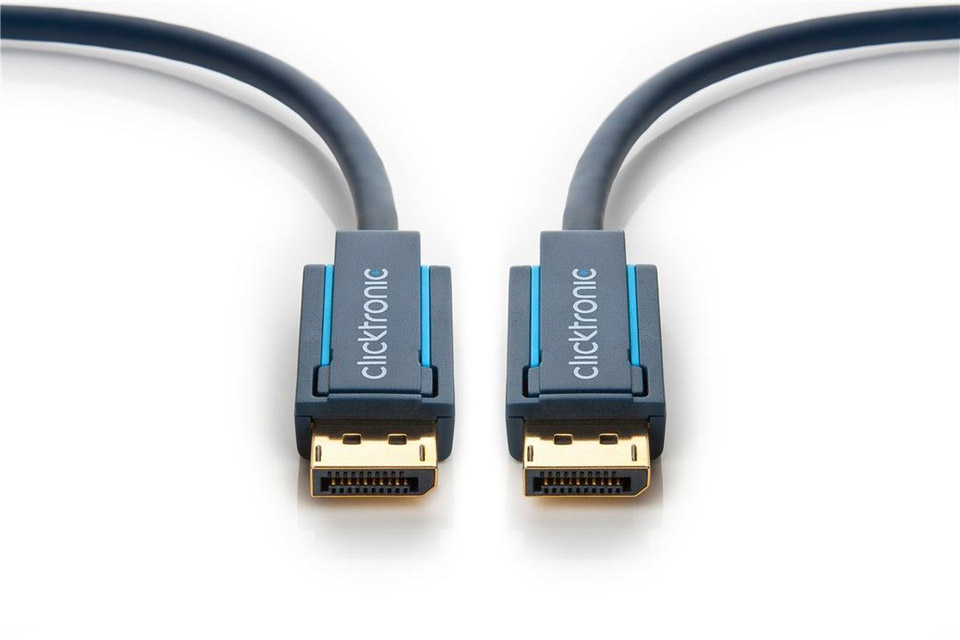 Clicktronic Casual DisplayPort cable 1.4