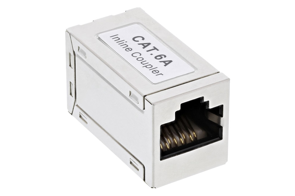 CAT 6A shielded RJ45 modular coupler