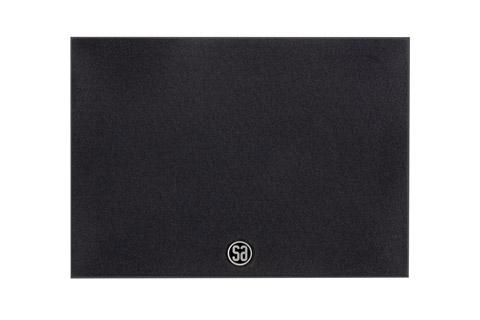System Audio Saxo 6 on-wall speaker, black satin
