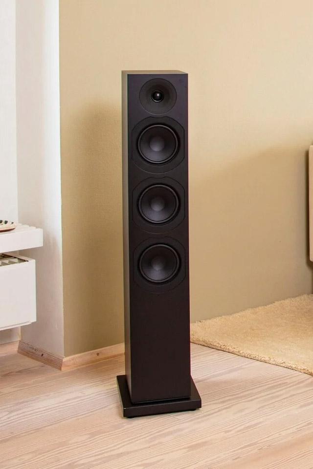 System Audio Saxo 60 floorstanding speaker, black satin