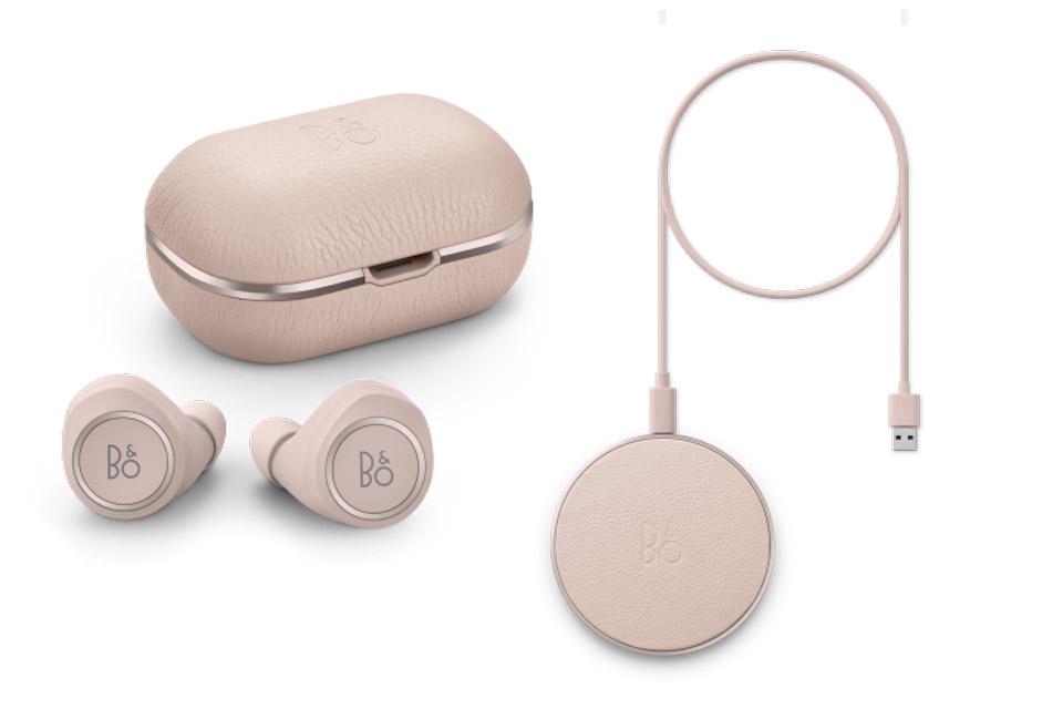 Beoplay E8 2.0 + charging pad, limestone