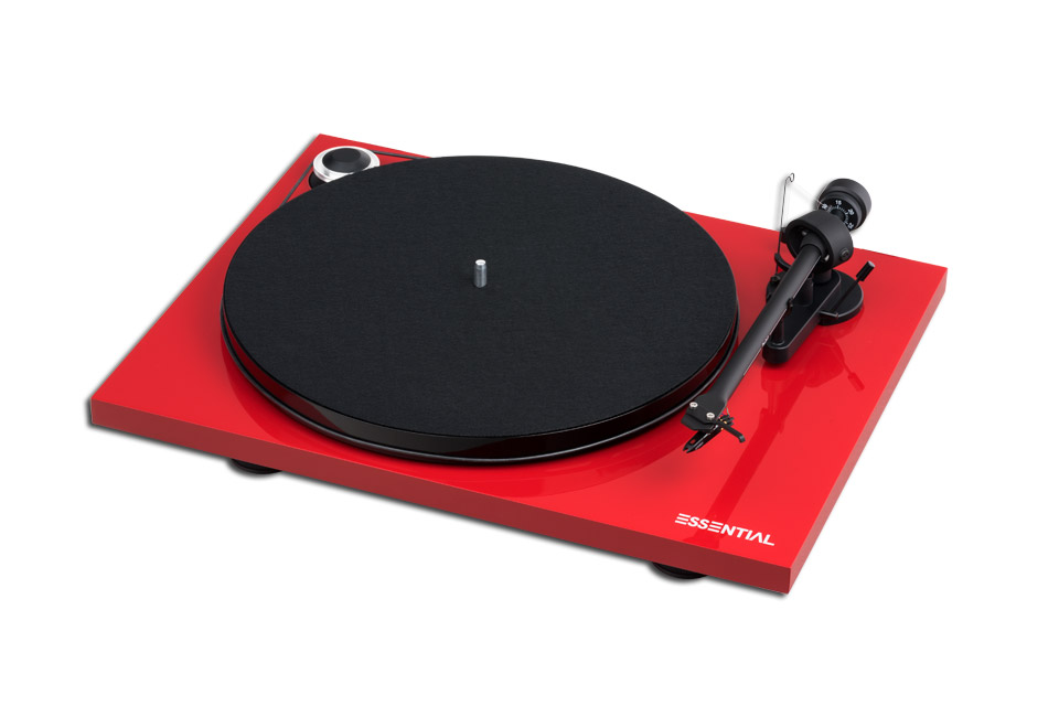 Pro-Ject Essential III Digital, Red