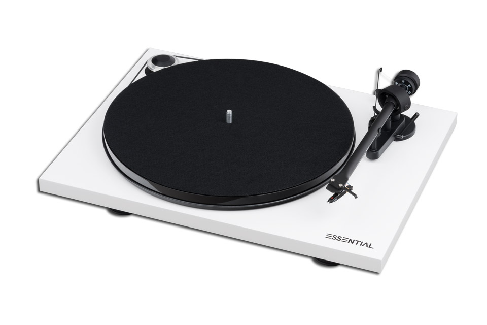 Pro-Ject Essential III Digital, White