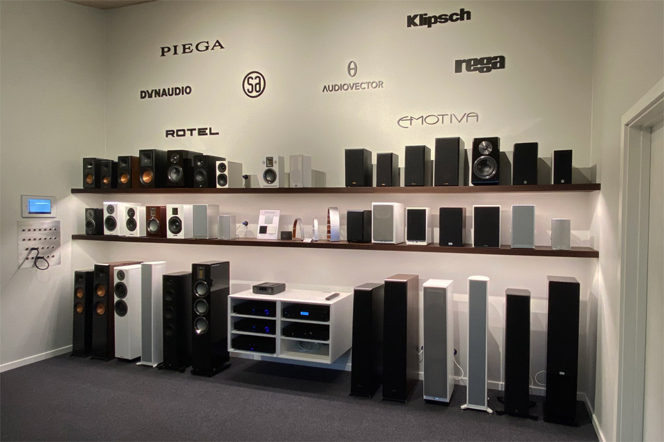 , AV-Connection Sønderborg Showroom 6: Hi-Fi stereo og subwoofere