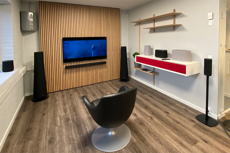 , AV-Connection Sønderborg Showroom 2: Harman Kardon Citation