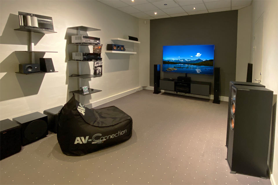 , AV-Connection Sønderborg Showroom 3: Home cinema and surround