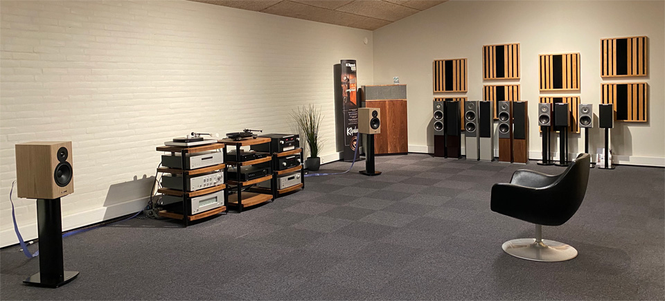 , AV-Connection Sønderborg Showroom 8: High-end stereo