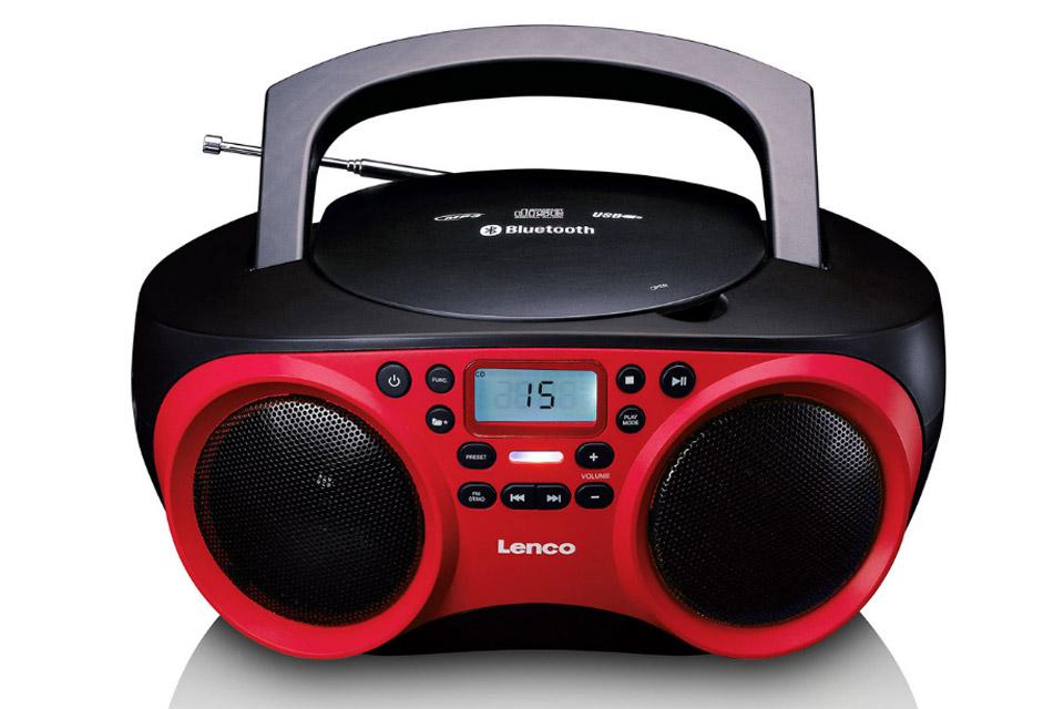 Lenco SCD 501 red / black