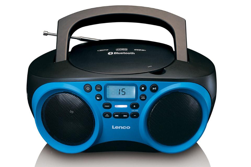 Lenco SCD 501 blue / black