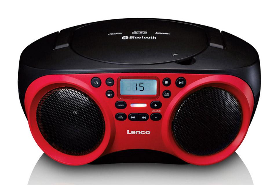 Lenco SCD 501 front red / black