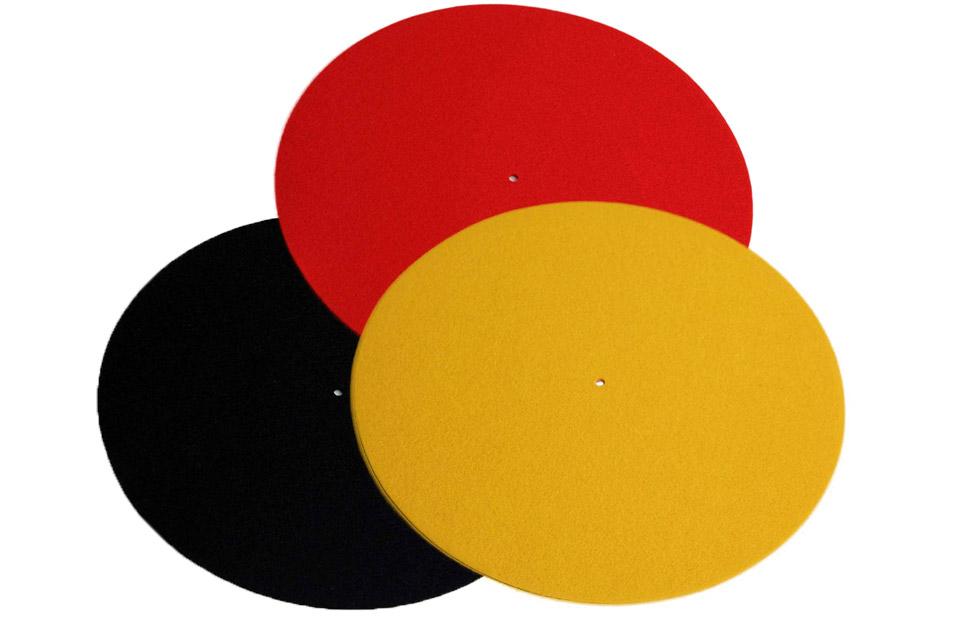 REGA Turntable wool mat - All