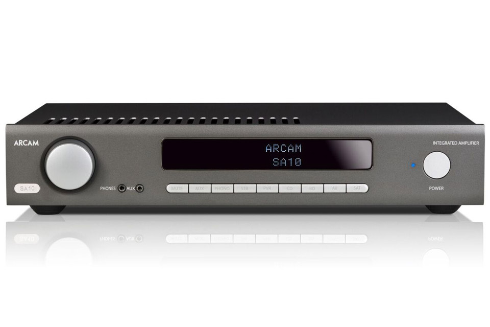 Arcam SA10 intergrated amp - Front