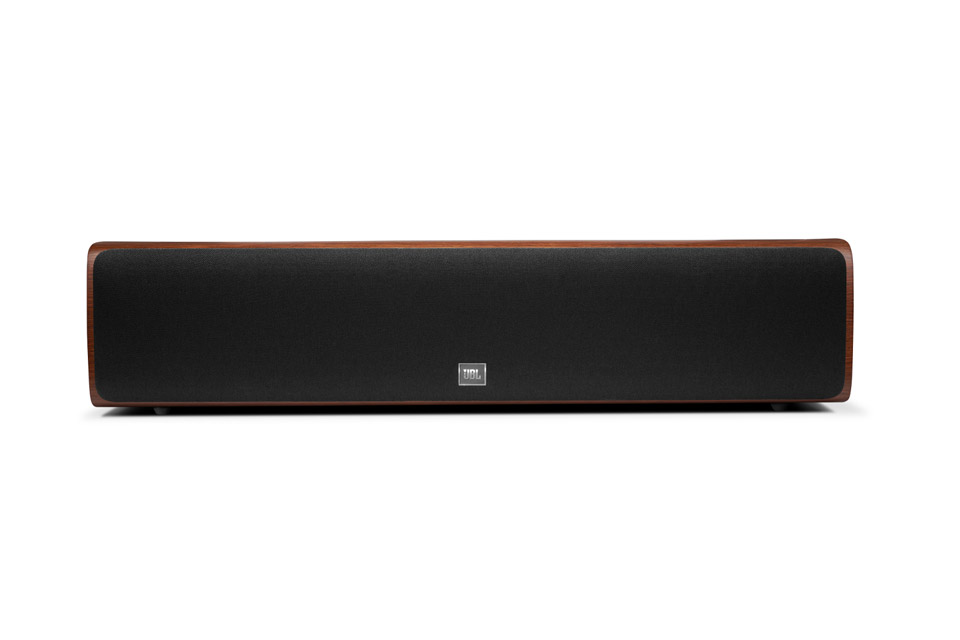JBL Synthesis HDI 4500 center speaker - Walnut front