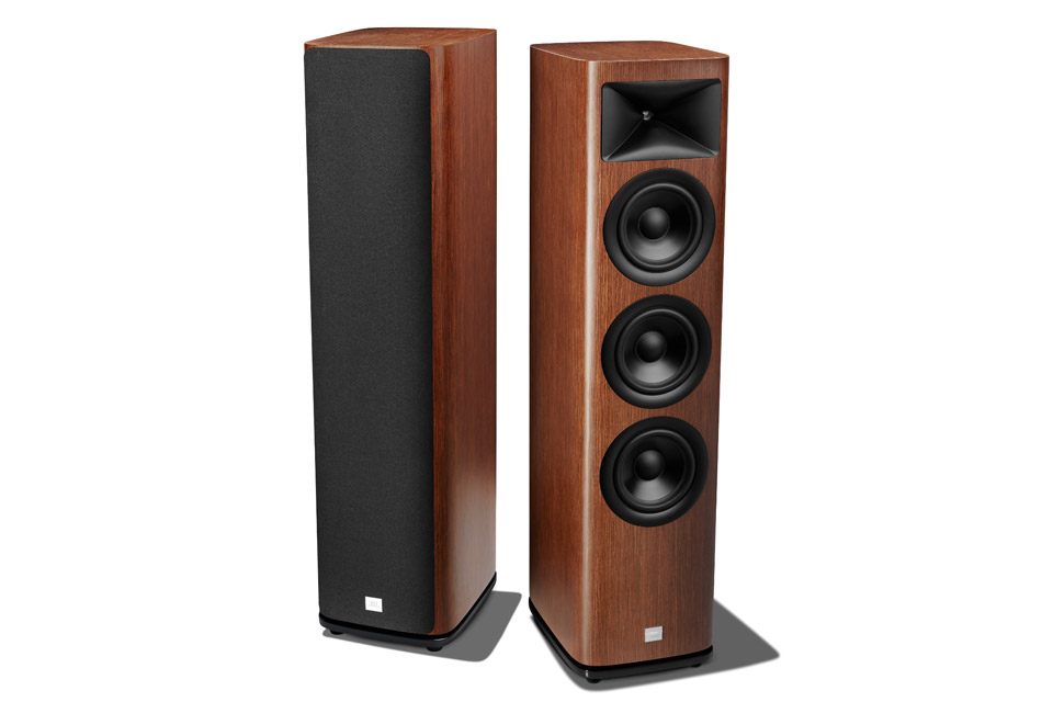 JBL Synthesis HDI 3600 floor loudspeaker - Walnut front