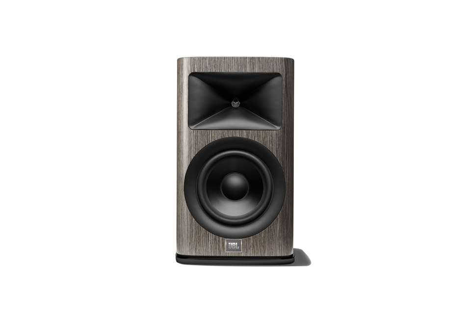JBL Synthesis HDI 1600 bookshelf loudspeaker - Grey oak
