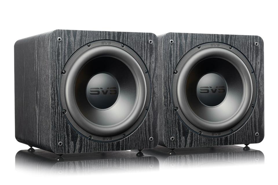 SVS SB2000 PRO Dual pack, black ash