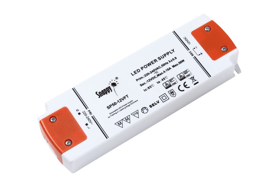Snappy LED driver 12V 50W dæmpbar