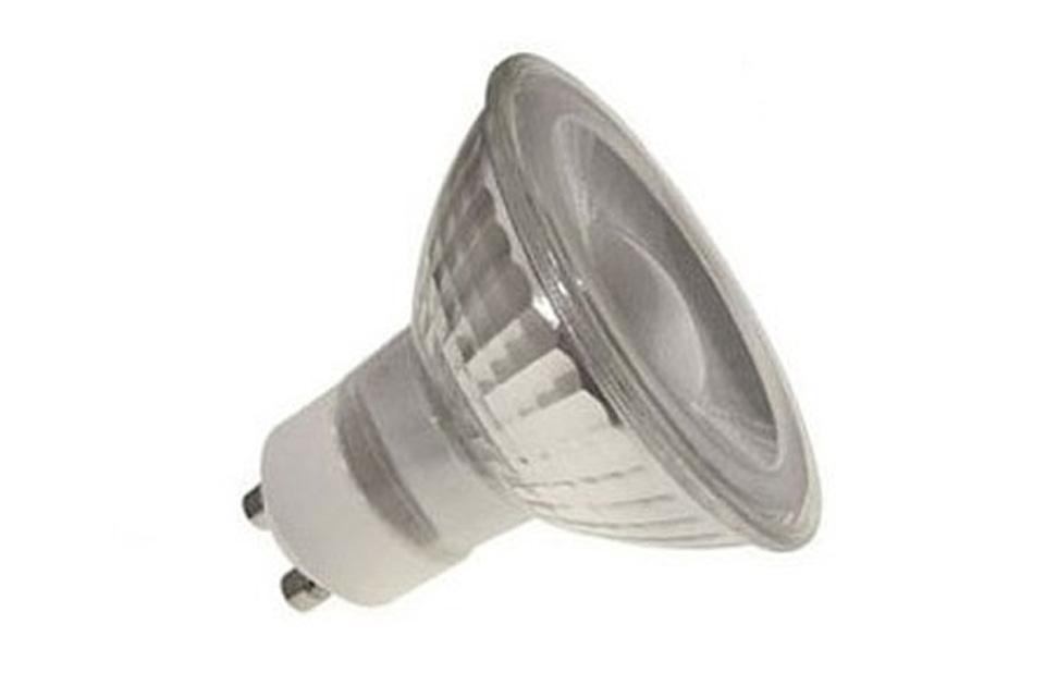 SunFlux GU10 LED pære, 4W, 2700K, 300 Lm, 38º, dæmpbar