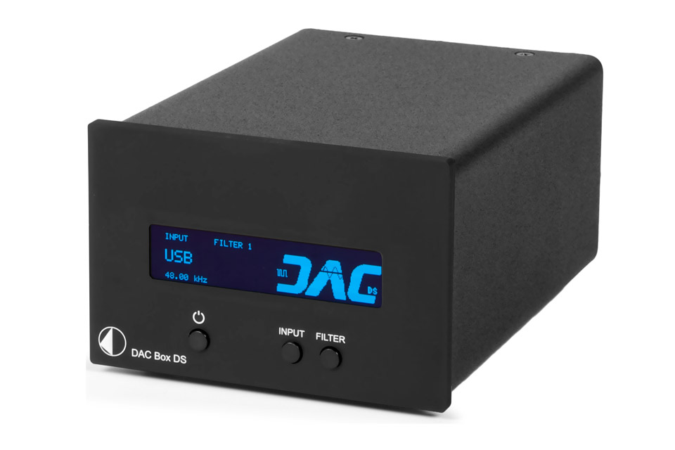Pro-Ject DAC BOX DS, sort