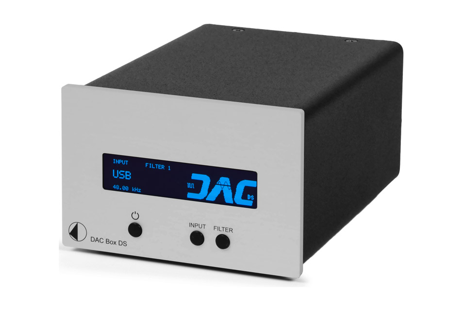 Pro-Ject DAC BOX DS, sølv