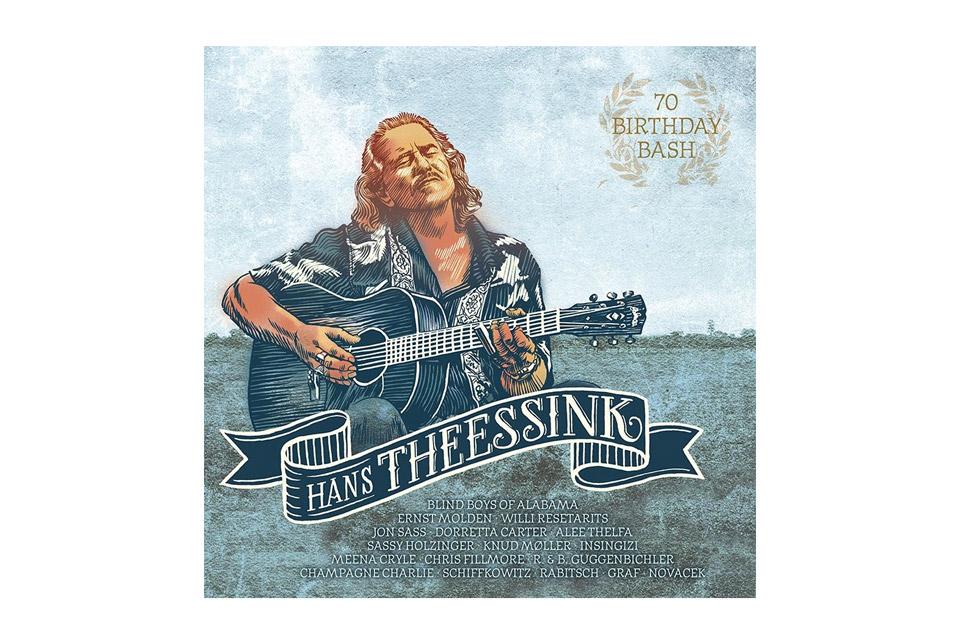 LP: Hans Theessink 70 Birthday Bash