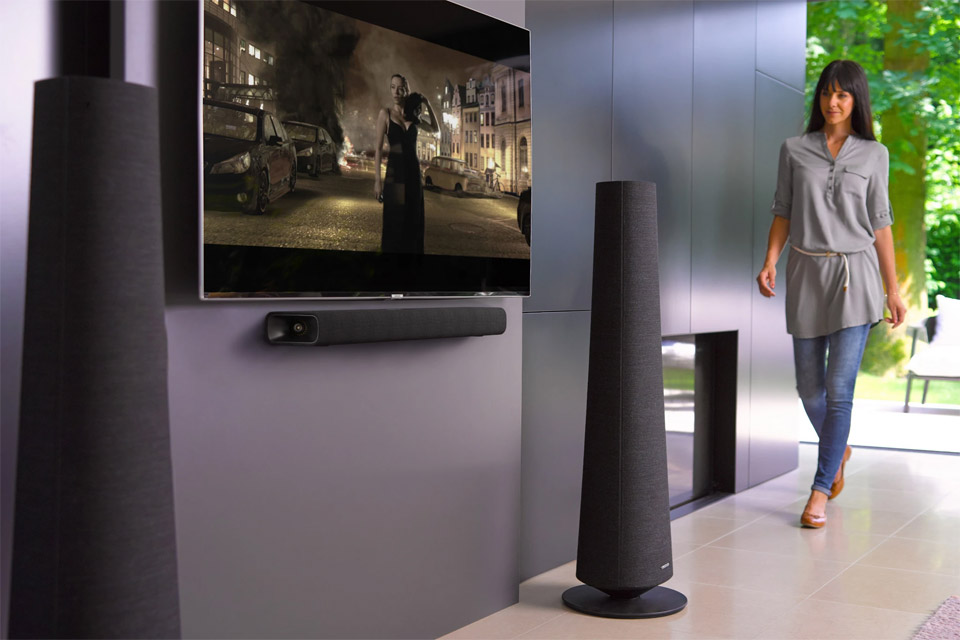 Harman Kardon Citation 700 soundbar, lifestyle