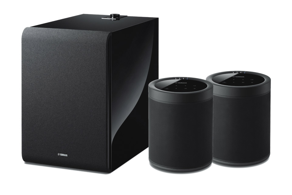 Yamaha MusicCast 20 Bundle with subwoofer, black
