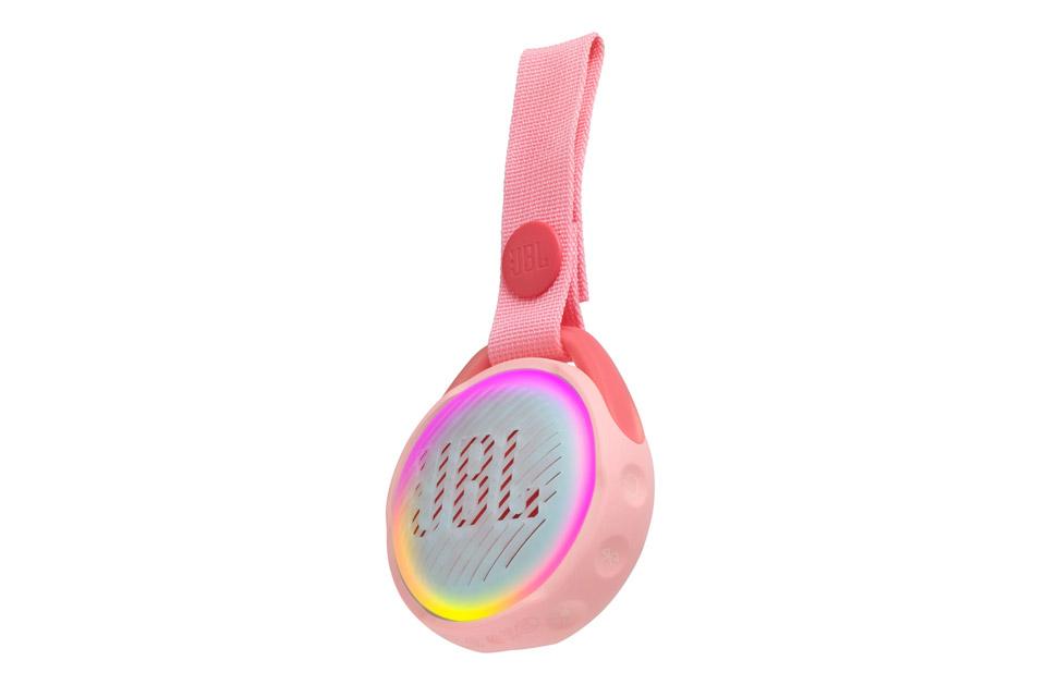 JBL JR POP portable speaker for kids, pink