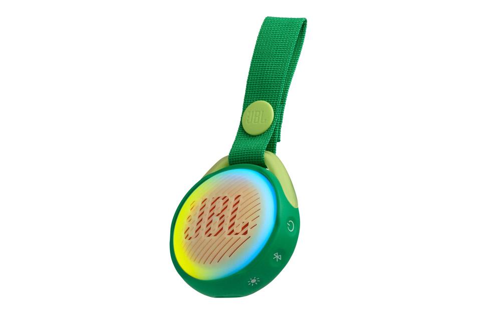 JBL JR POP portable speaker for kids, green