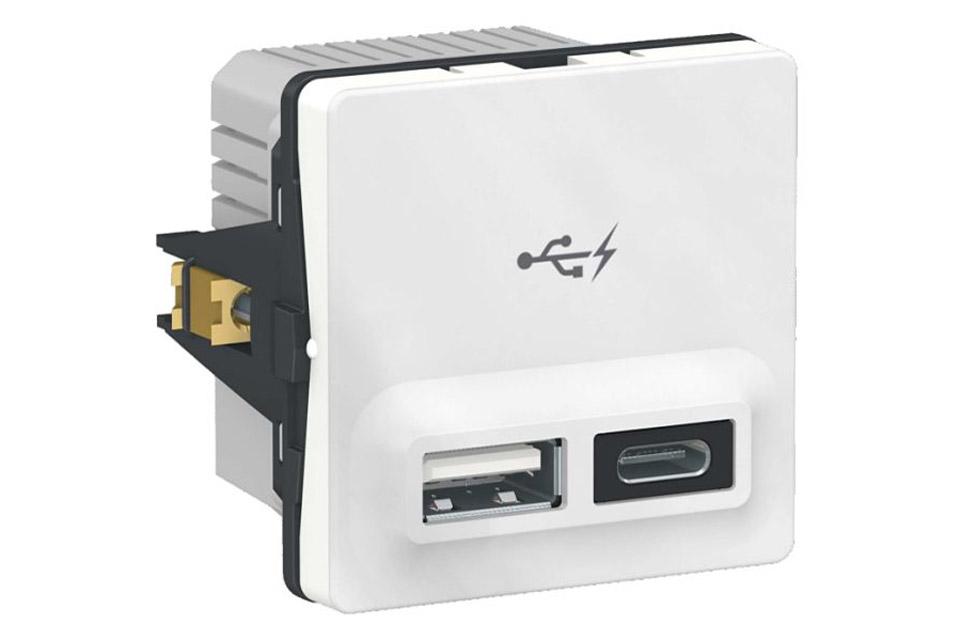 LK FUGA® Dobble USB-charger (2.400 mA)
