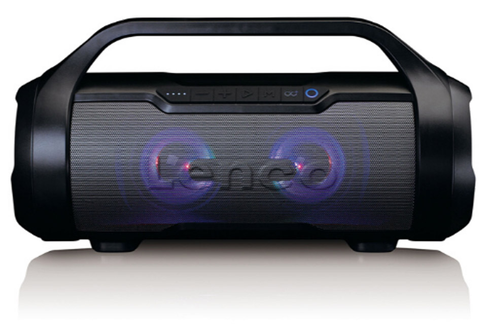 Lenco SPR-070 Boombox - With light