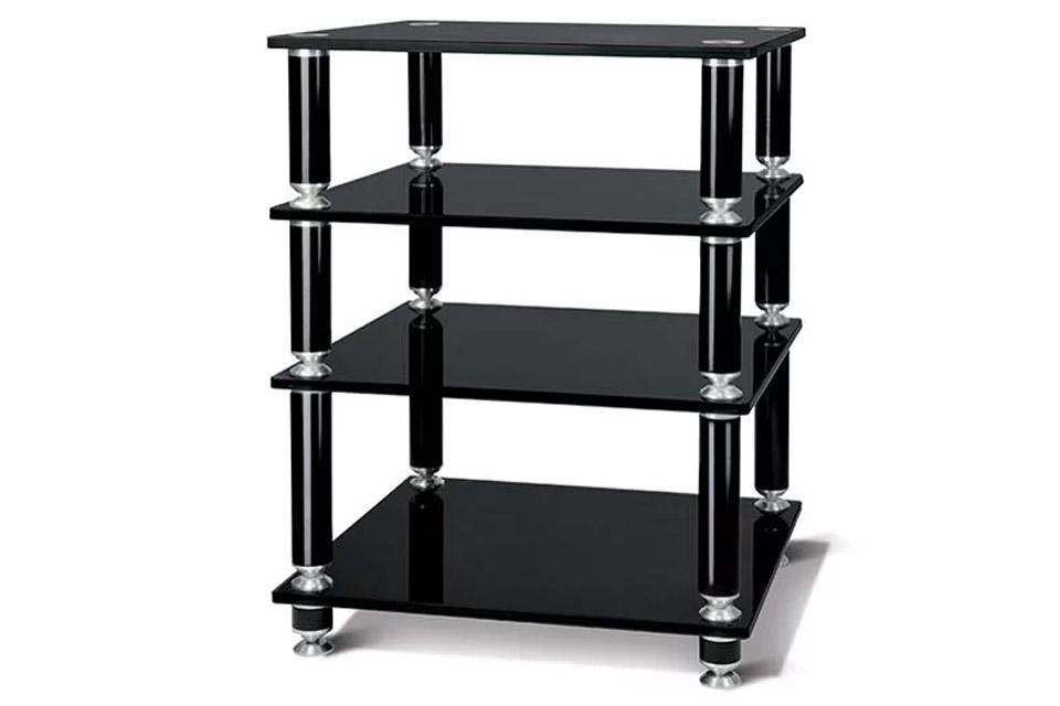 NorStone STÄBBL HIFI 4 shelfs - Black