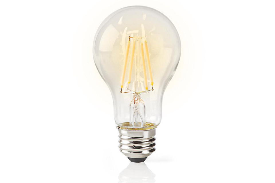 SmartLife E27 Filament LED bulb, 5W, A60, 2700K