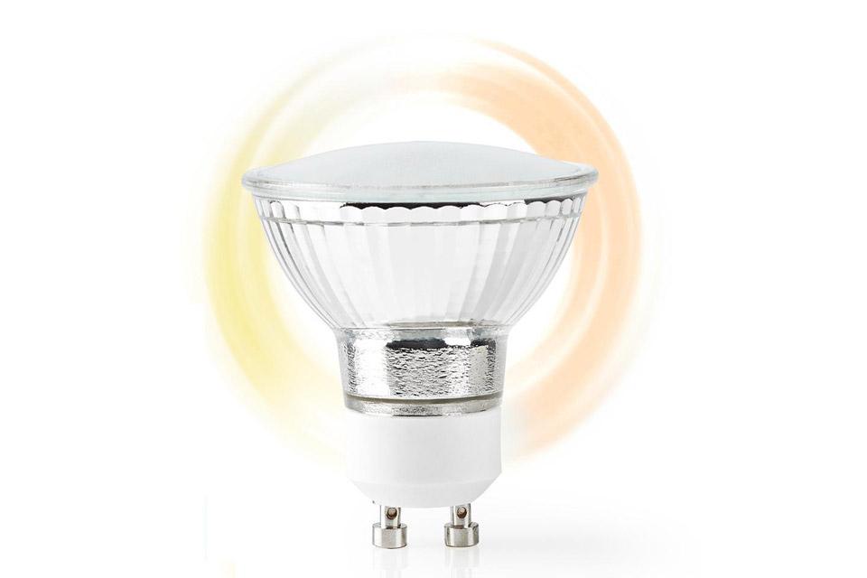 SmartLife GU10 LED bulb, 4.5W, 1800 - 2700 K