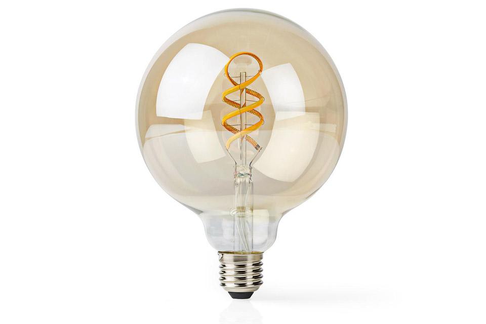 SmartLife E27 Filament LED bulb, 5.5W, G125, 1800 - 6500 K