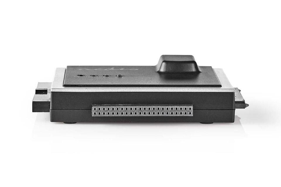 Nedis Hard drive adapter (IDE and SATA) - Side