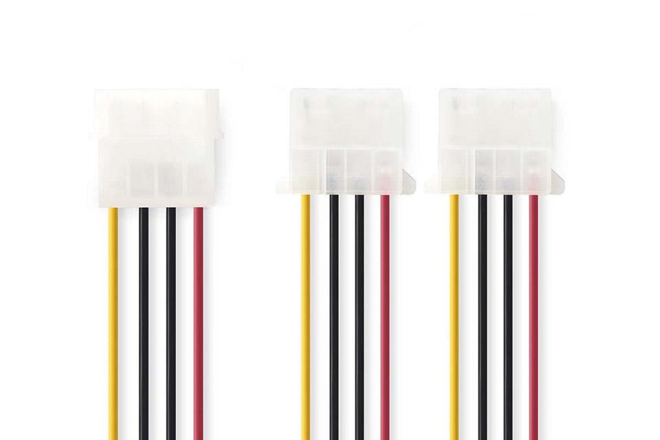 Molex split cable (Molex female to 2x Molex male)