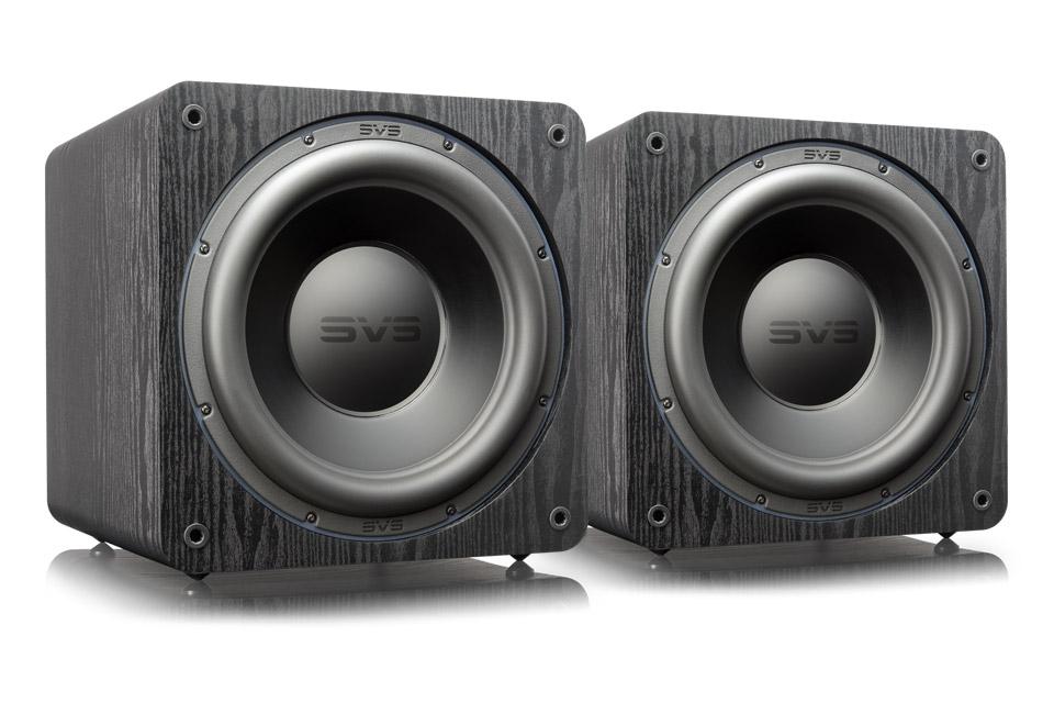 SVS SB3000 dual pack - black ash