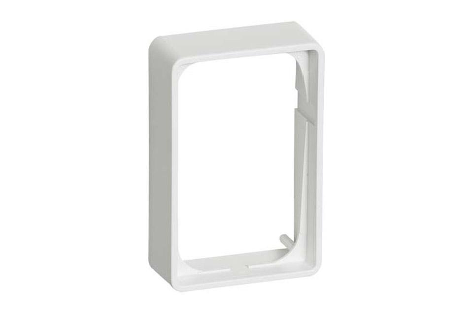 LK FUGA® Baseline 50-ramme - 1.5 modul, 21 mm.,hvid