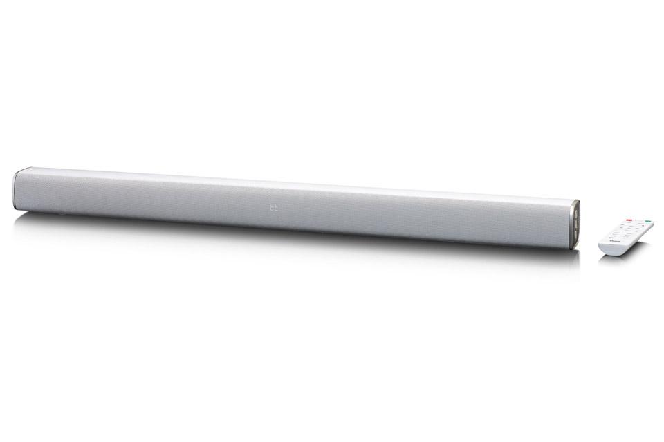 Lenco SB-081 Soundbar, white - Front