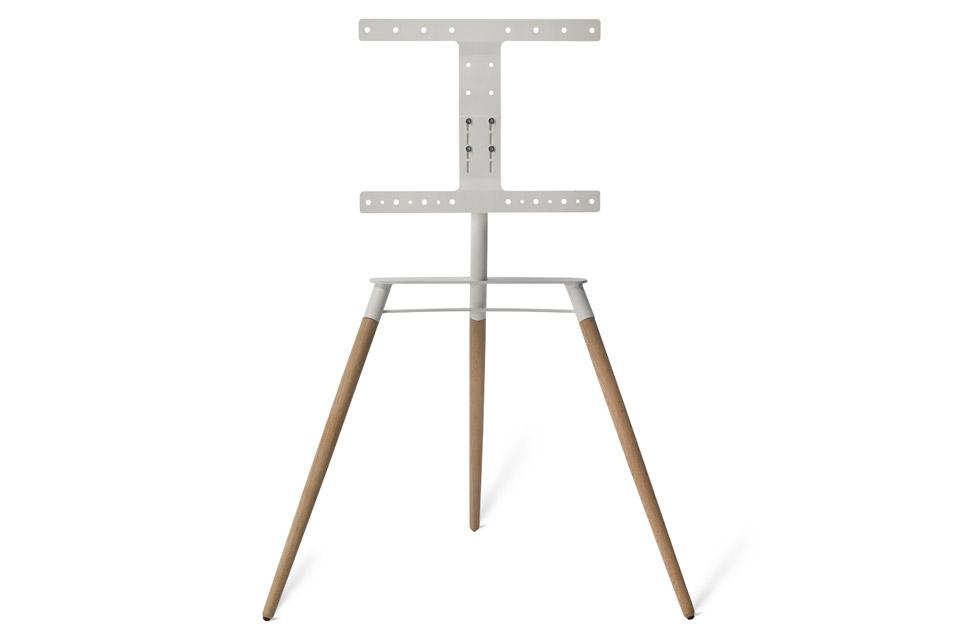 Bülow BS19 TV stand, natural oak/white