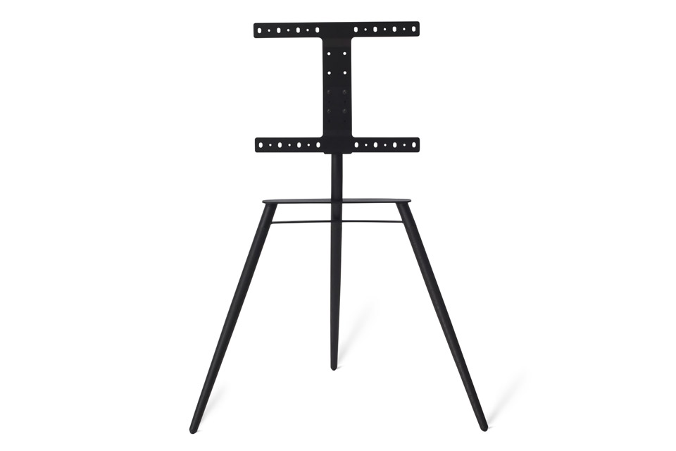 Bülow BS19 TV stand, black oak/black