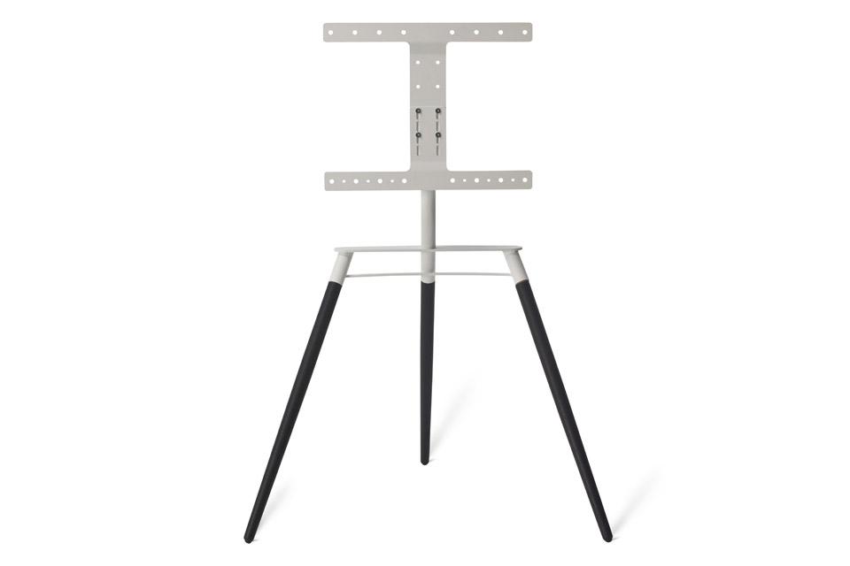 Bülow BS19 TV stand, black oak/white