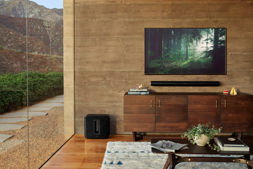 Sonos ARC soundbar, lifestyle