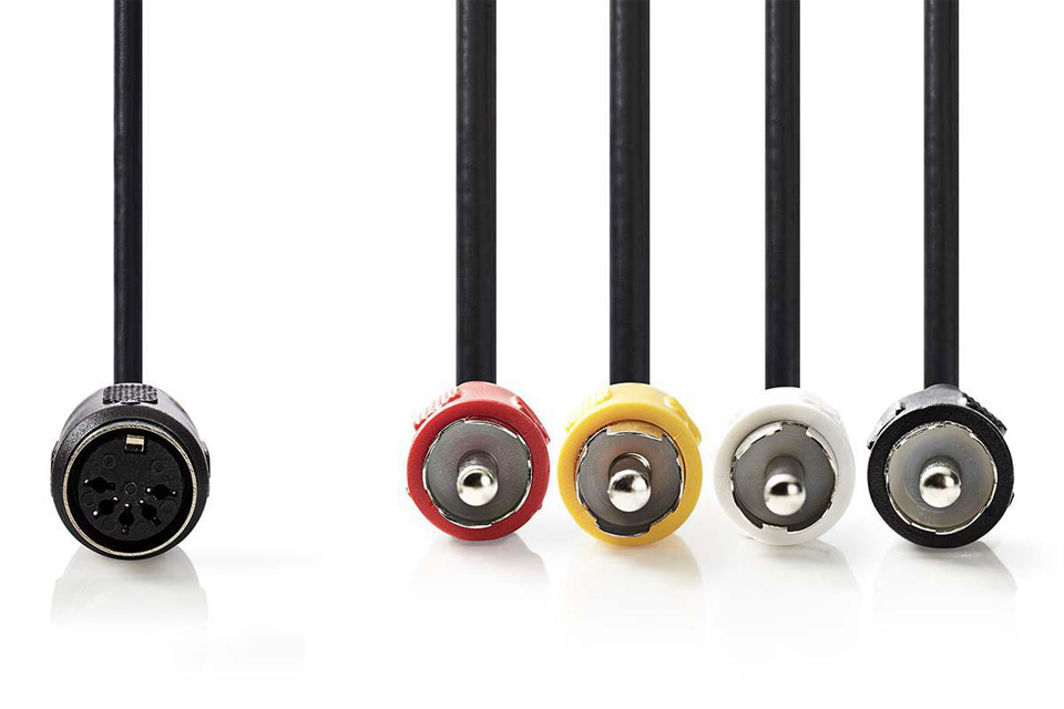 DIN Phono adapterkabel