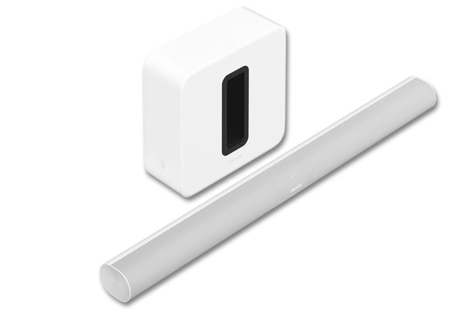 Sonos ARC og SUB 3.1.2 system, hvid
